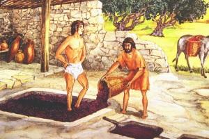 Как делали вино древние греки