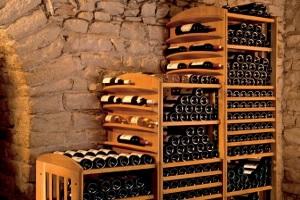 Хранение вина в винном погребе